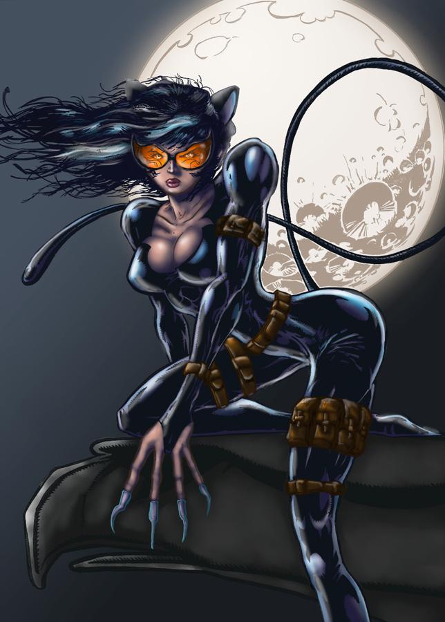 Catwoman by RodrigoDiazAravena