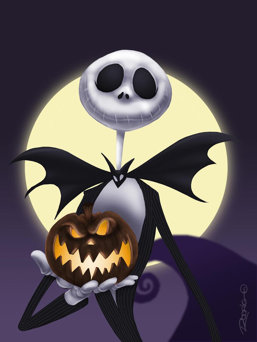 jack skellington halloween wallpaper - photo #23