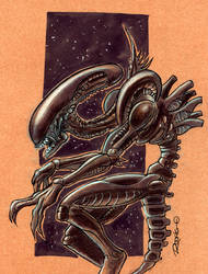Alien by RodrigoDiazAravena