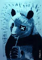 Pirate Panda by RodrigoDiazAravena