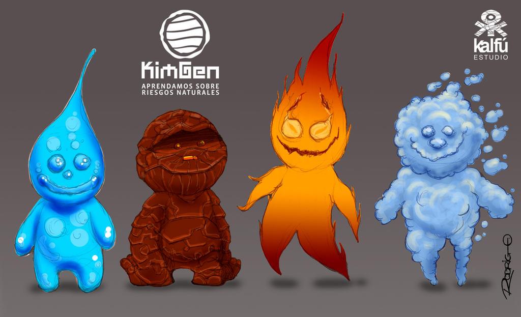 Character Design Kimgen by RodrigoDiazAravena