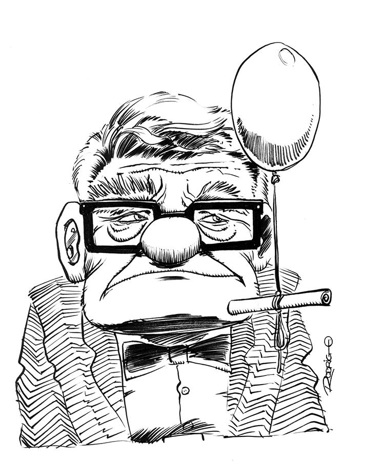 Carl Fredricksen by RodrigoDiazAravena