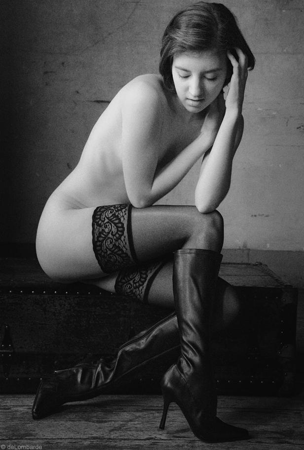 Rayne - Figure Study with Stockings