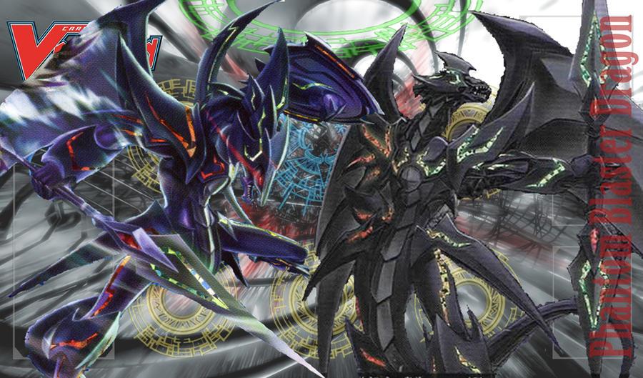 Cardfight!! Vanguard Mat - Phantom Blaster Dragon by DragonTamer256