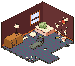 D28. Room [30Days Challenge] by ElleAP