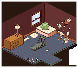 D28. Room [30Days Challenge] by ElleAP