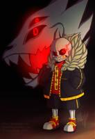 He looks angry [Undertale AU] by elleap