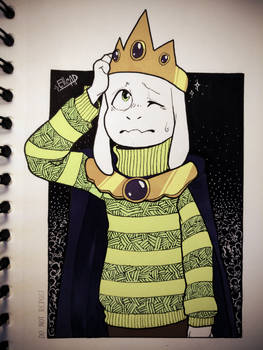 Day 22. Asriel + Expensive [Inktober]