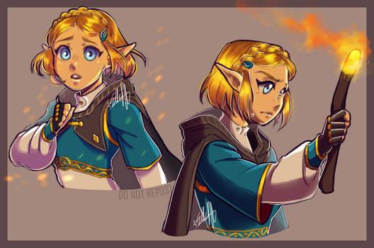 Princess [TLOZ BOTW] by elleap