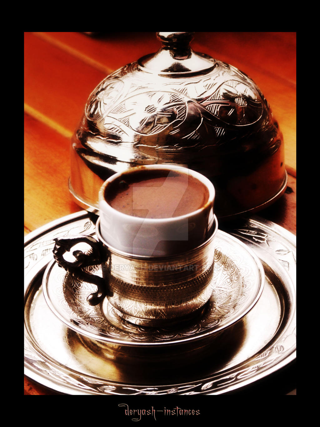 A Cup of Turkish Coffee..