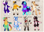 Mixed anthro adopts [1 Left]