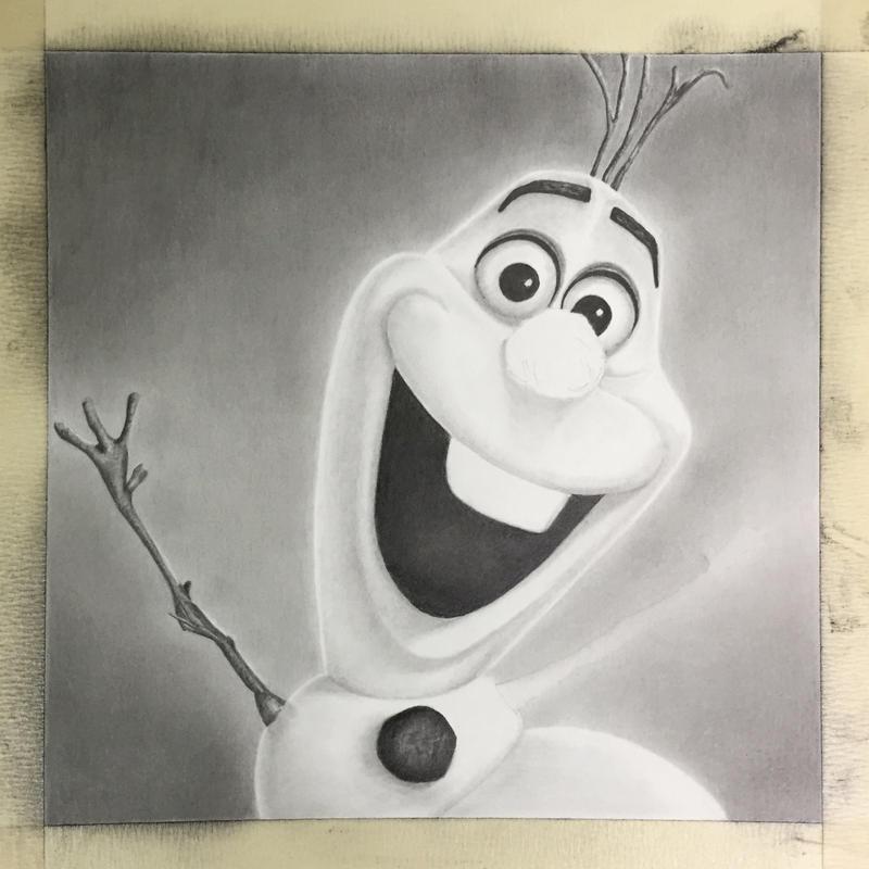 Olaf WIP by GregDiNapoli