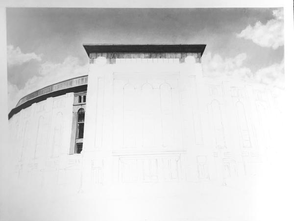 Yankee Stadium WIP by GregDiNapoli