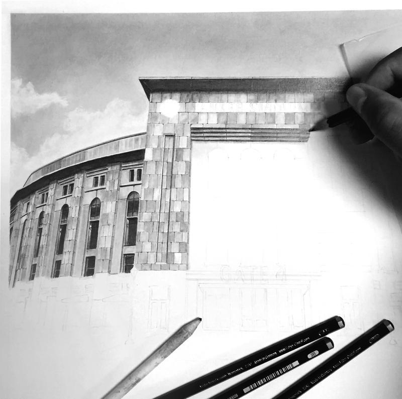 Yankee Stadium WIP 2 by GregDiNapoli