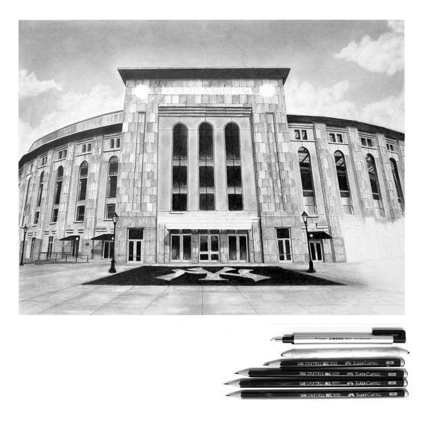 Yankee Stadium WIP 5 by GregDiNapoli