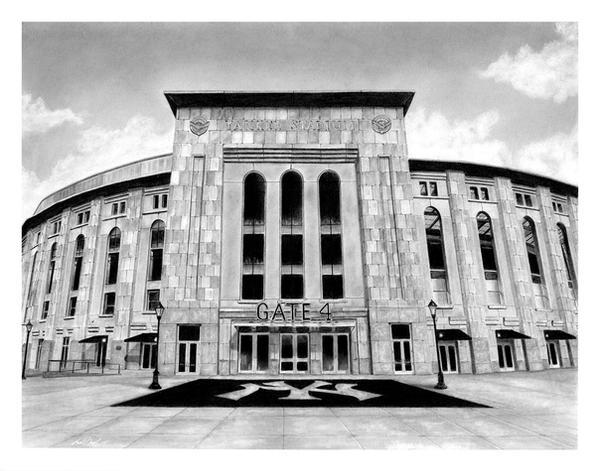 Yankee Stadium by GregDiNapoli