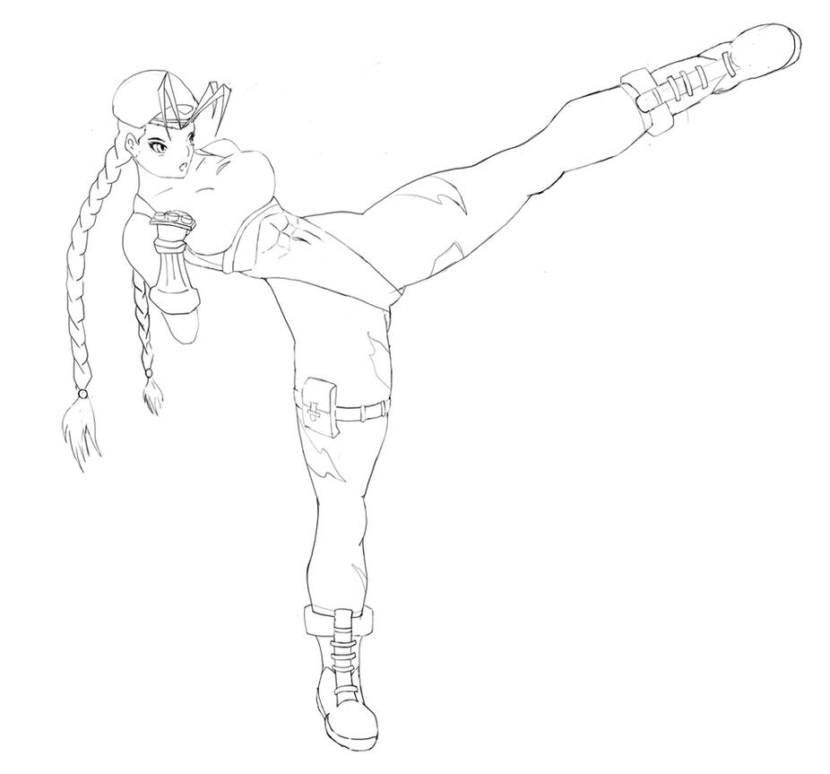 Cammy (sketch) by sinus05