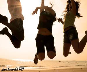 silhoutte jump