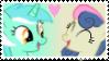 Lyra x Bon Bon stamp by tofuudog
