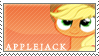 Applejack stamp by tofuudog