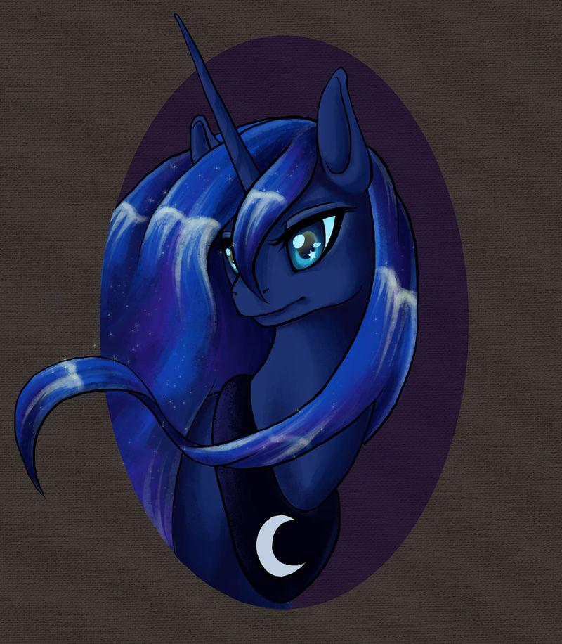 Princess Luna portrait or something