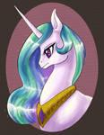 Princess Celestia portrait or something