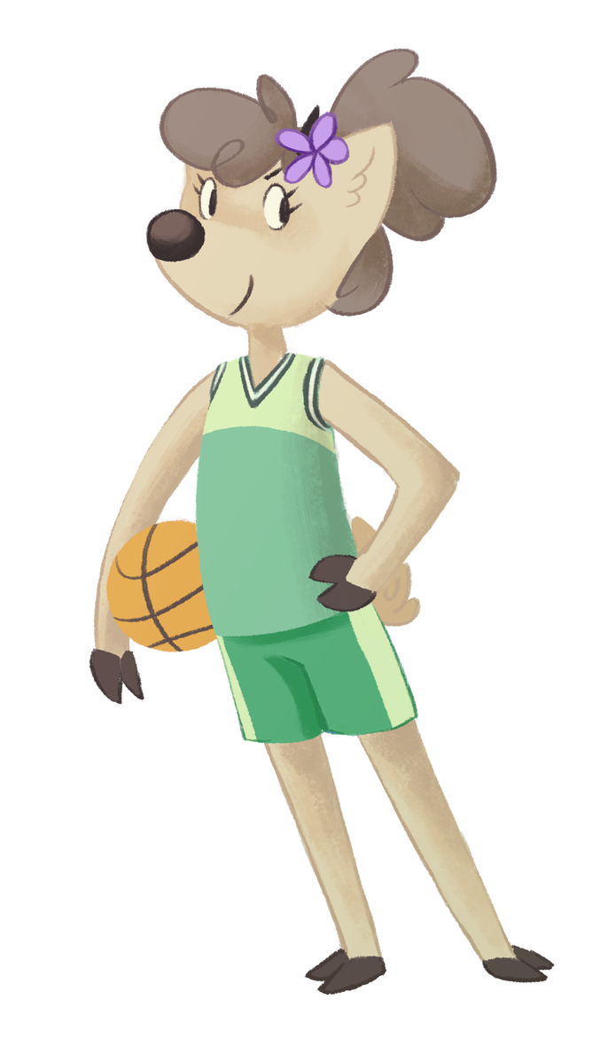 Little basketball deer by Zaphy1415926