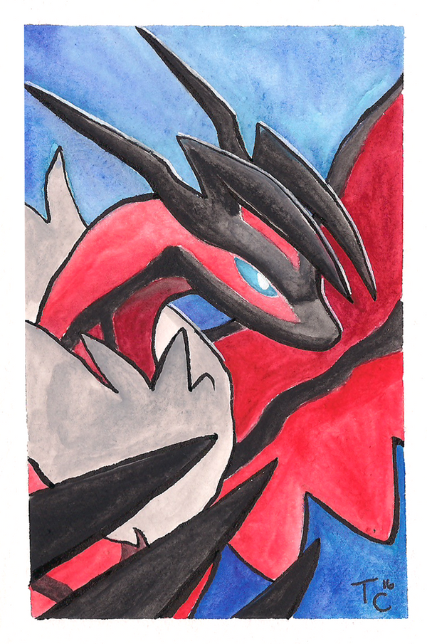 Yveltal by Zaphy1415926
