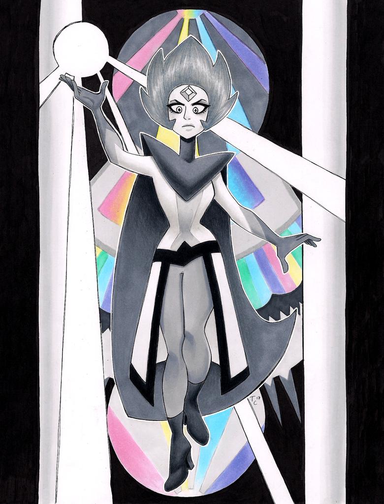fan design - White Diamond by Zaphy1415926