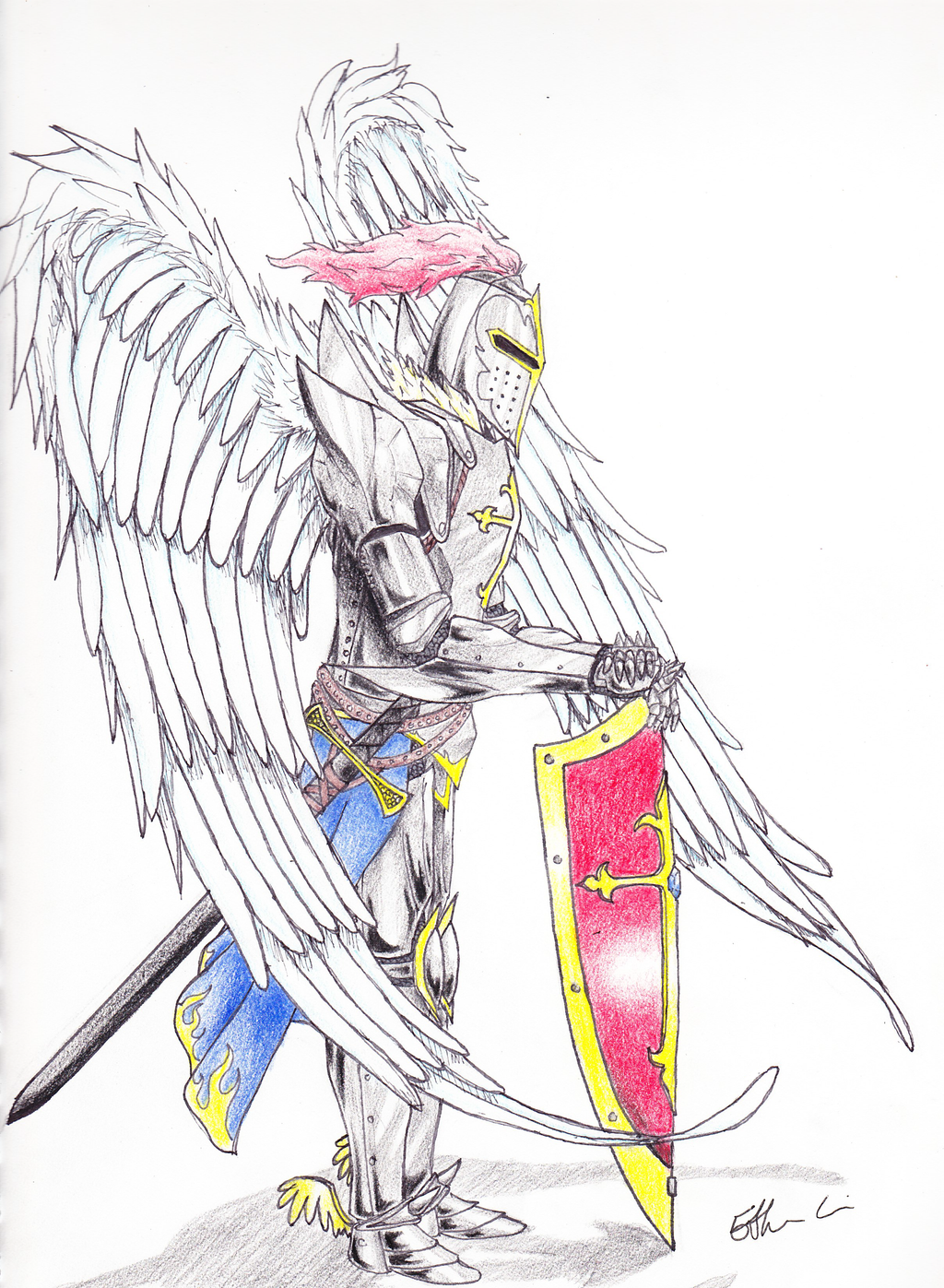 Warrior Angel by crazygundamfan12 on DeviantArt