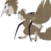 Death bird by Nire-chan