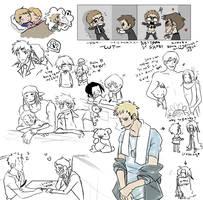 Random drawins by Nire-chan