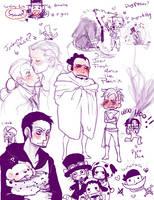 OP doodley doodles by Nire-chan