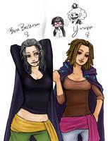 OP GB Yasopp and Benn by Nire-chan