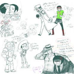 OP Kizaru doodles