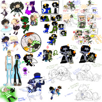 HS and GS Chibis and whatnot