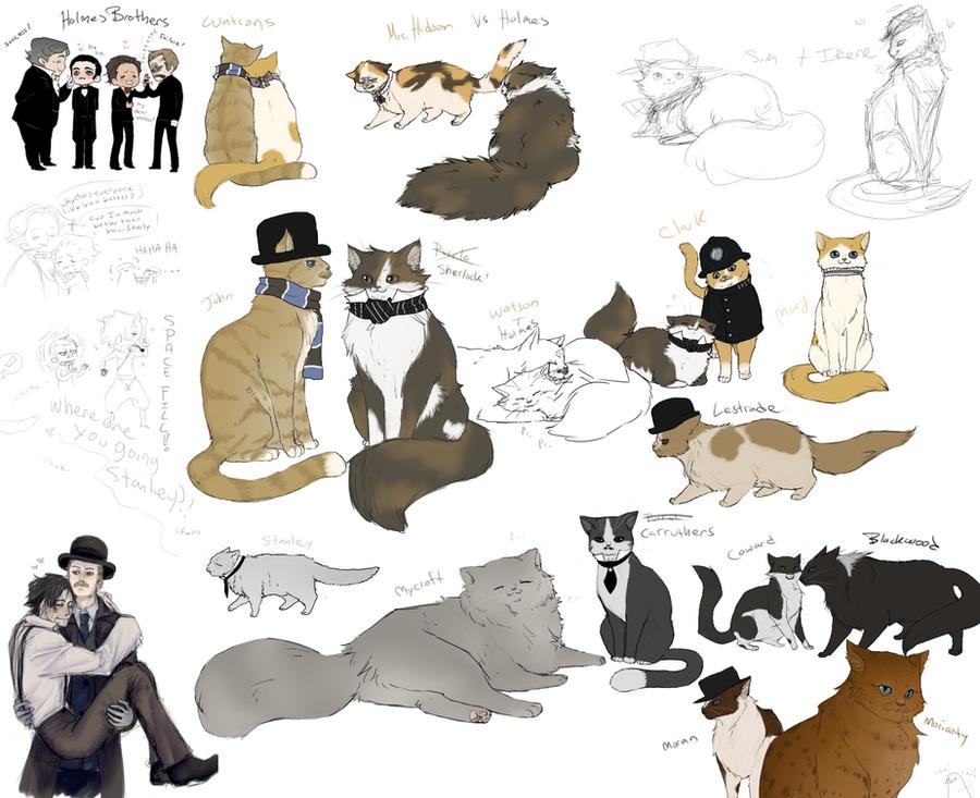 SH Purrlock Holmes Pet Detective by Nire-chan