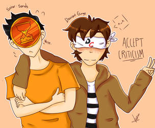 Solar Sands and Deviant-Cringe by KimTxeHyung