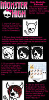 MH Skullette Hair Tutorial