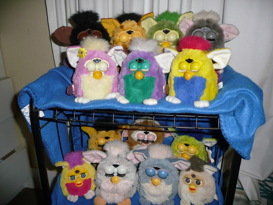 art Furby Collection