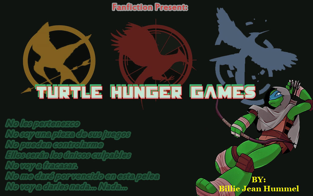The hunger games version TMNT by dennef