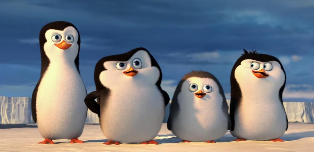 Pinguinos de madagascar by dennef