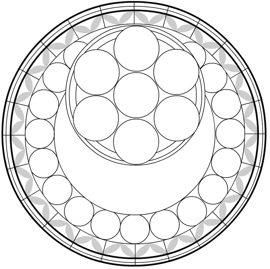 Kingdom Hearts Stained Glass Coloring Pages Coloring Pages