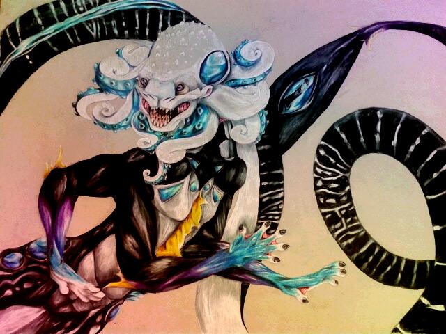 Pisces- AICE art series by Xenobeas