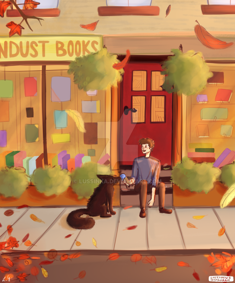 Sandust Books by lussinka