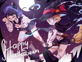 Halloween Creek by pooderpoo