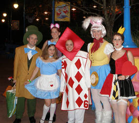 The Wonderland Gang by Little-Princess-Kate