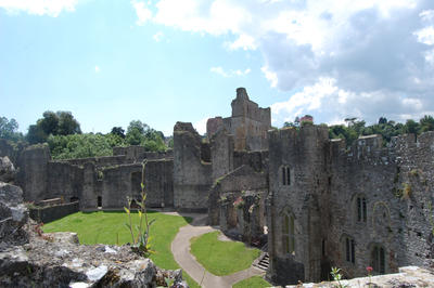 Chepstow Castle by Little-Princess-Kate
