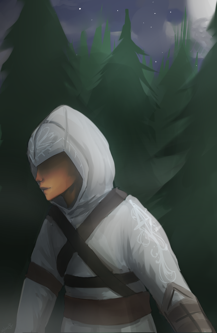 First Assassin Commission by Xylerz