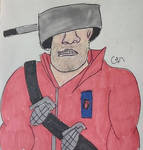Sixfanarts #2e - Team Fortress 2 Soldier